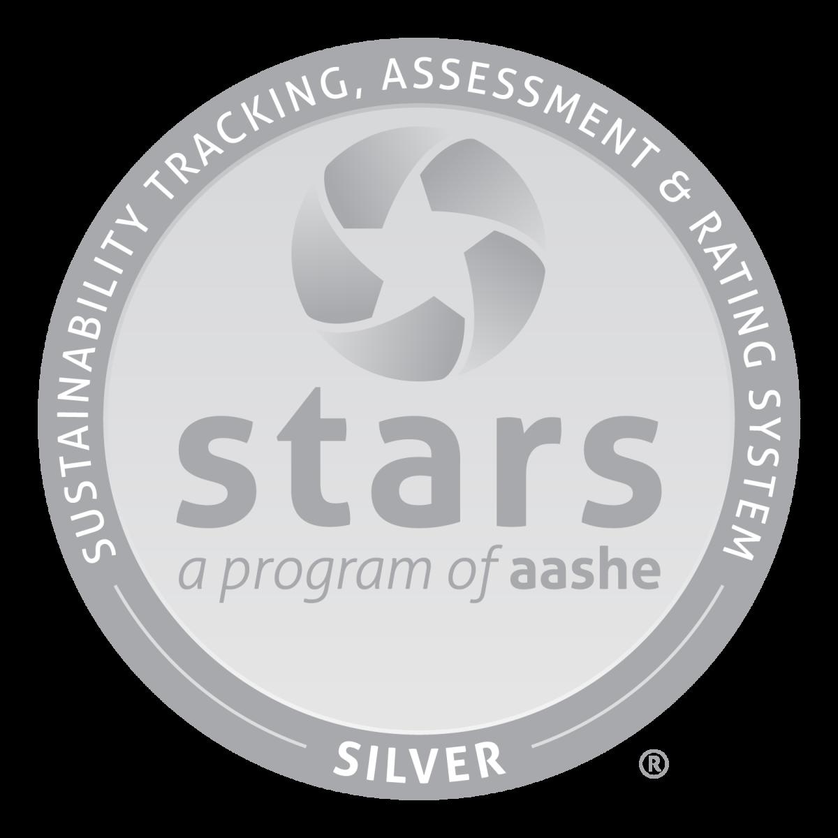 STARS Silver award designation seal